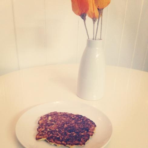 Oatmeal pancake
