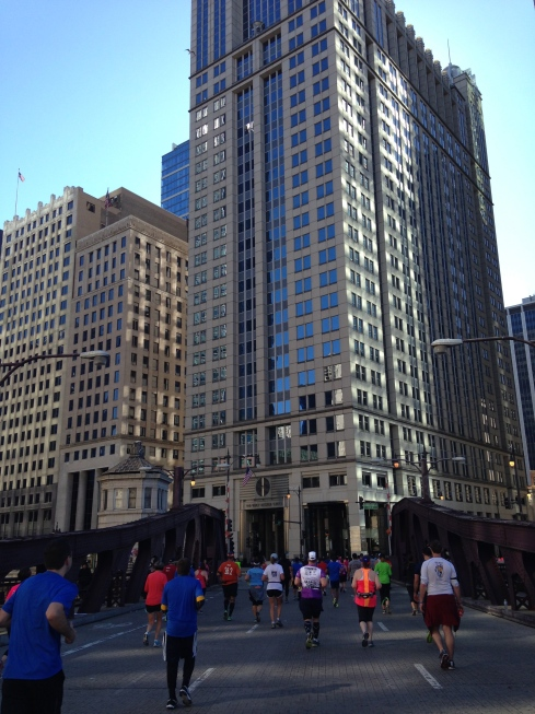 Running the streets of Chicago