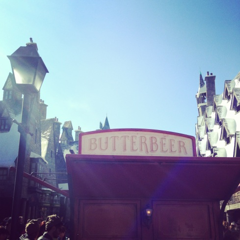The butterbeer stand