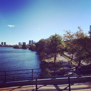 Our gorgeous fall run in Boston