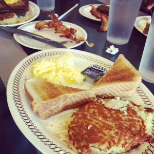 Breakfast at the Waffle House